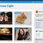 Light Blue Blogger Template