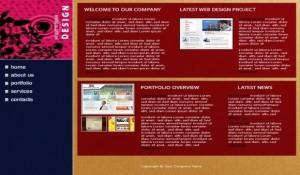 Money Business Company Website Template