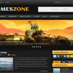 Yellow Games Blogger Theme