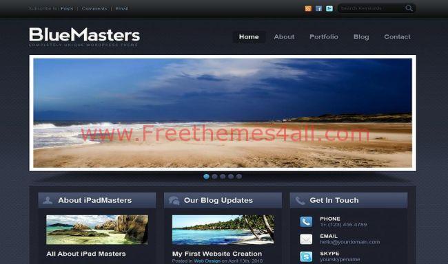 free drupal themes slider