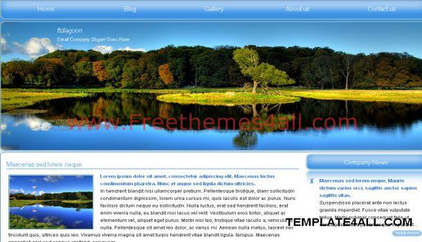 Nature Jquery Website Template