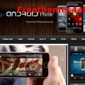 Iphone Magazine Blogger Template