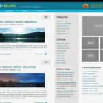 Silver Business Free Website Template