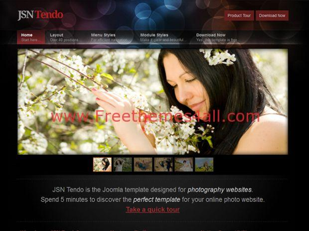 free fashion gallery joomla template