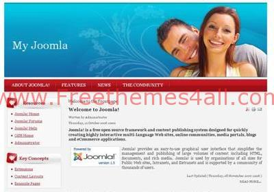 Free Joomla Dating Love sexy Web2.0 Theme Template
