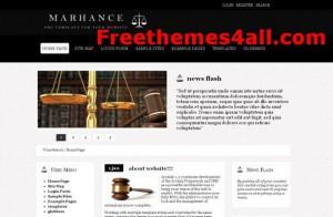 Black Lawyer Joomla Theme