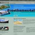 Travel CSS Website Template