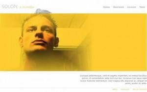 Yellow Salon Fashion Joomla Theme