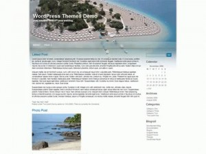 Wordpress Land Sea Theme