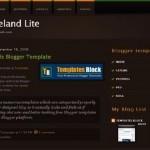 JungleLand Brown Blogger Template