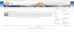 Clean Mountain Php-Fusion Theme