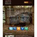 Brown Cars CSS Template