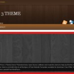 Brown Wood Wordpress Theme