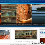 Blastme Blue Wordpress Theme