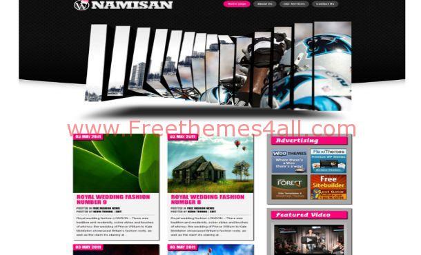 Free Pink Sport Technology WordPress Theme