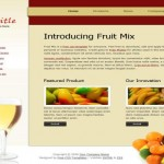 Fruits Free Website Template