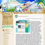 Travel Blogger Theme
