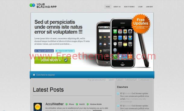 Mobile Free CSS Template Download