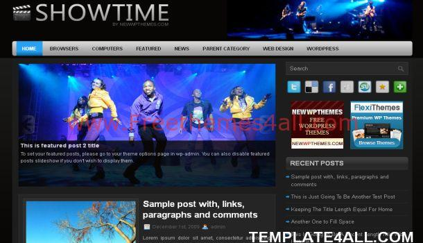 Black Music Wordpress Theme