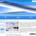 Blue CSS Website Template