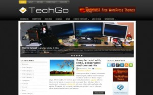 Technology Jquery Free Wordpress Theme
