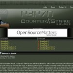 Green Counter Strike Joomla Template