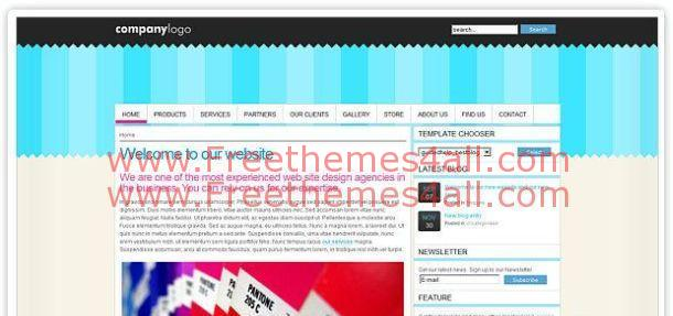 Free Best Blog Joomla Theme Template