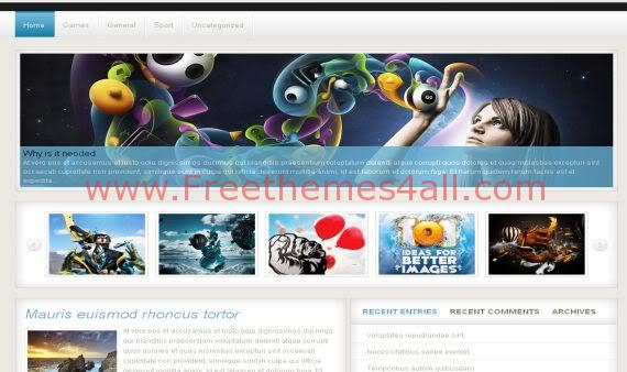 Free Gadgets Magazine Wordpress Theme