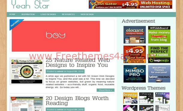 Free Brown Wood Magazine WordPress Theme