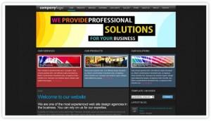 Business Solution Dark Joomla Theme