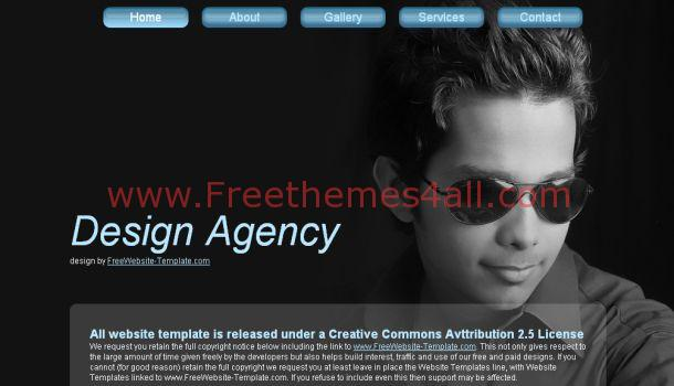 Design Agency Portfolio Website Template