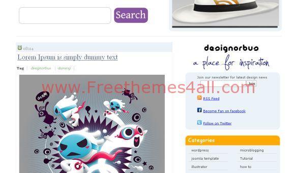 DesignOrbus Free Blogger Template