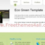 Clean Eco Green Portfolio CSS Template
