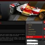 Red Black Racing Drupal Theme