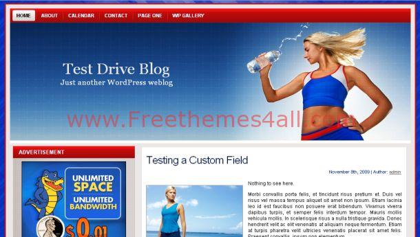 Fitness Club Free WordPress Magazine Theme