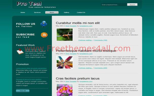 Green Business Grunge Free CSS Website Template