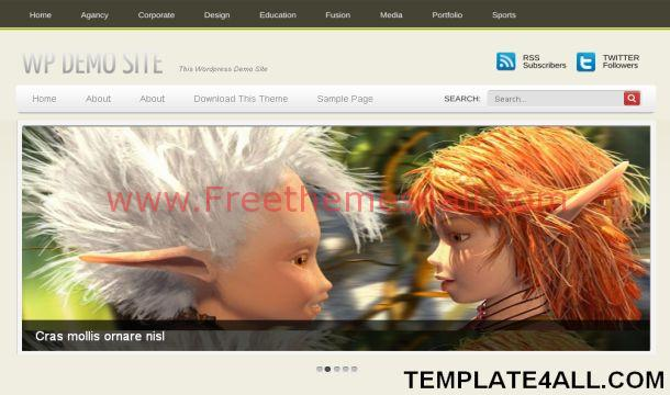 Free Games Gray Magazine WordPress Theme