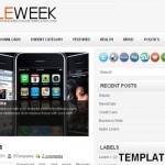 Mobiles Magazine Blogger Template
