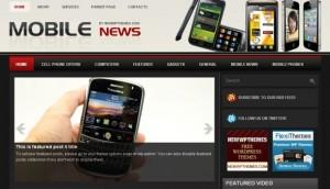 Iphone Mobiles Magazine Wordpress Theme