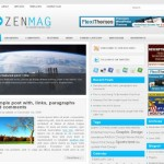 Blue News Blog Wordpress Theme