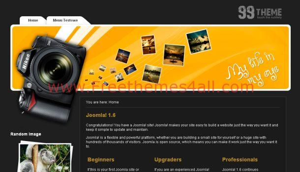 Free Photos Share Joomla Template