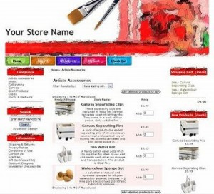 Shop Red Zen Cart Template