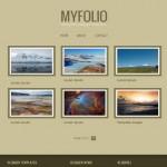 Abstract Blogger Photos Gallery Theme