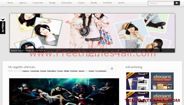 Life Magazine Premium Wordpress Theme