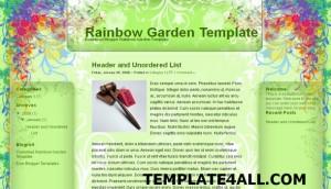 rainbow.green.blogger.template.jpg