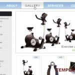 Simple Sport Store Jquery Website Template