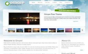 Sky Blue Green Travel Gallery CSS Template