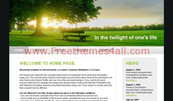 Nature Website Template