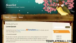 wooden.vector.blogger.template.jpg