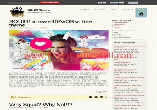 Graphics Business Free E107 Theme